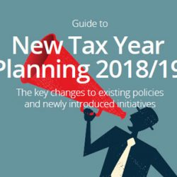 Guide to New Tax Year Planning 2018/19