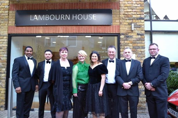 IMC team ready for the Mortgage Strategy awards held in Mayfair, London